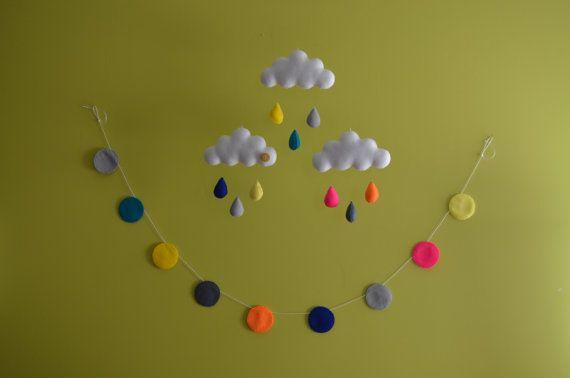 Móveis e Garland definido. Coordenadas berçário / decoração por MilbotandChooky