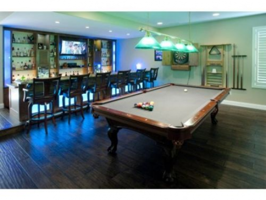 Photo of Billiards Pool Man Cave Ideas Design #recreationalroom #recreational #room #man …