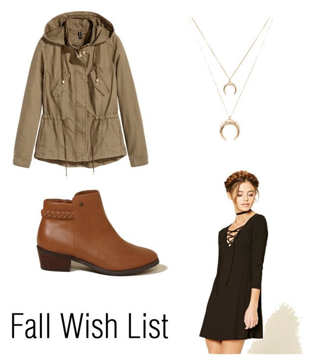 """""""Fall wish list"""" by bewitchedmagic on Polyvore featuring Hollister Co. and Forever 21"""