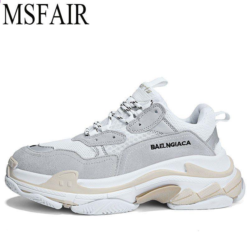 Msfair Retro Kobiety Mezczyzni Buty Do Biegania Kobieta Marka Letnie Oddychajace Buty Sportowe Dla Mezczyzn Milo Sneakers Womens Sneakers Running Shoes For Men