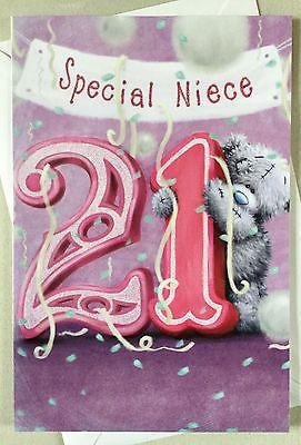 Me To You Tatty Teddy Niece 16th 18th 21st Birthday Card Cards Stationery Celebration 21st Birthday Cards 21st Birthday Wishes Niece Birthday Wishes