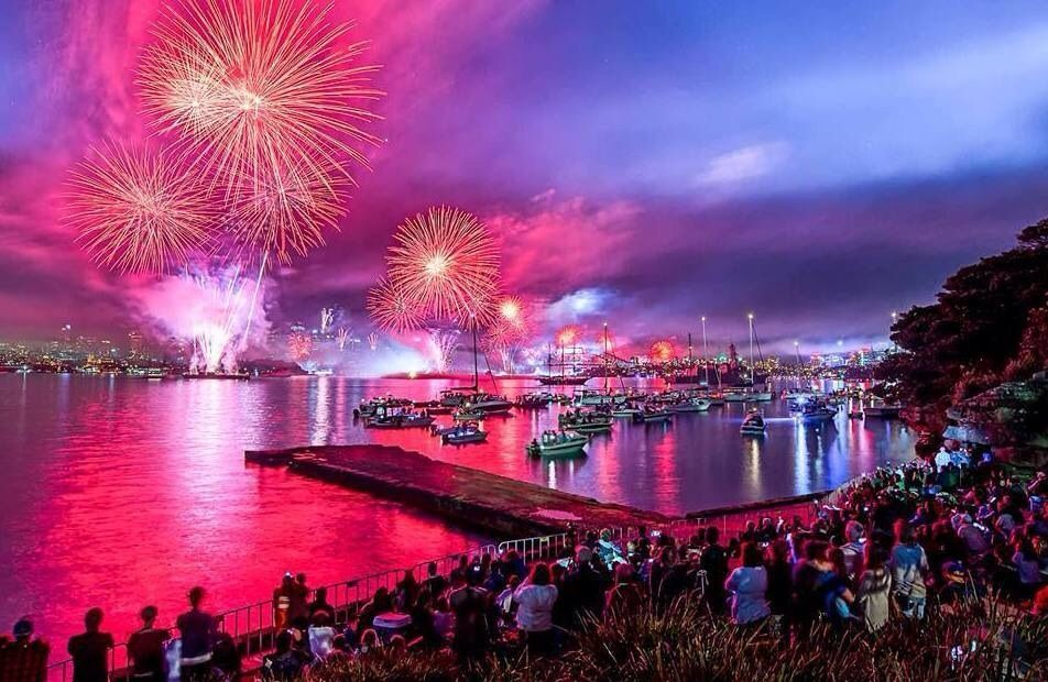 new year New years eve cruises, New year fireworks