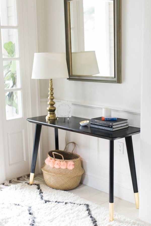 Elegant An Ikea Entryway Table Hack So Simple Anyone Can Do It