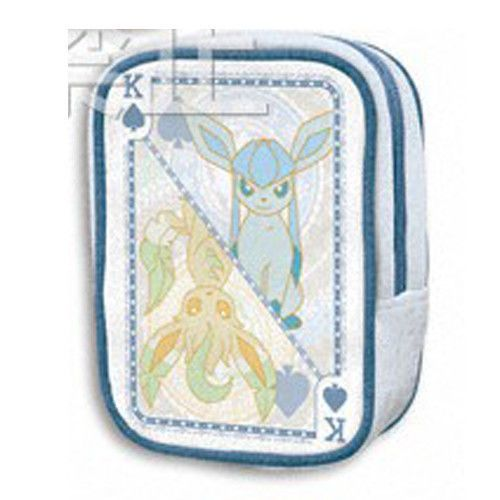 Pokemon I Love Eevee Glaceon Leafeon Coin Purse Bag Zipper Pouch UFO Prize XY BW | eBay