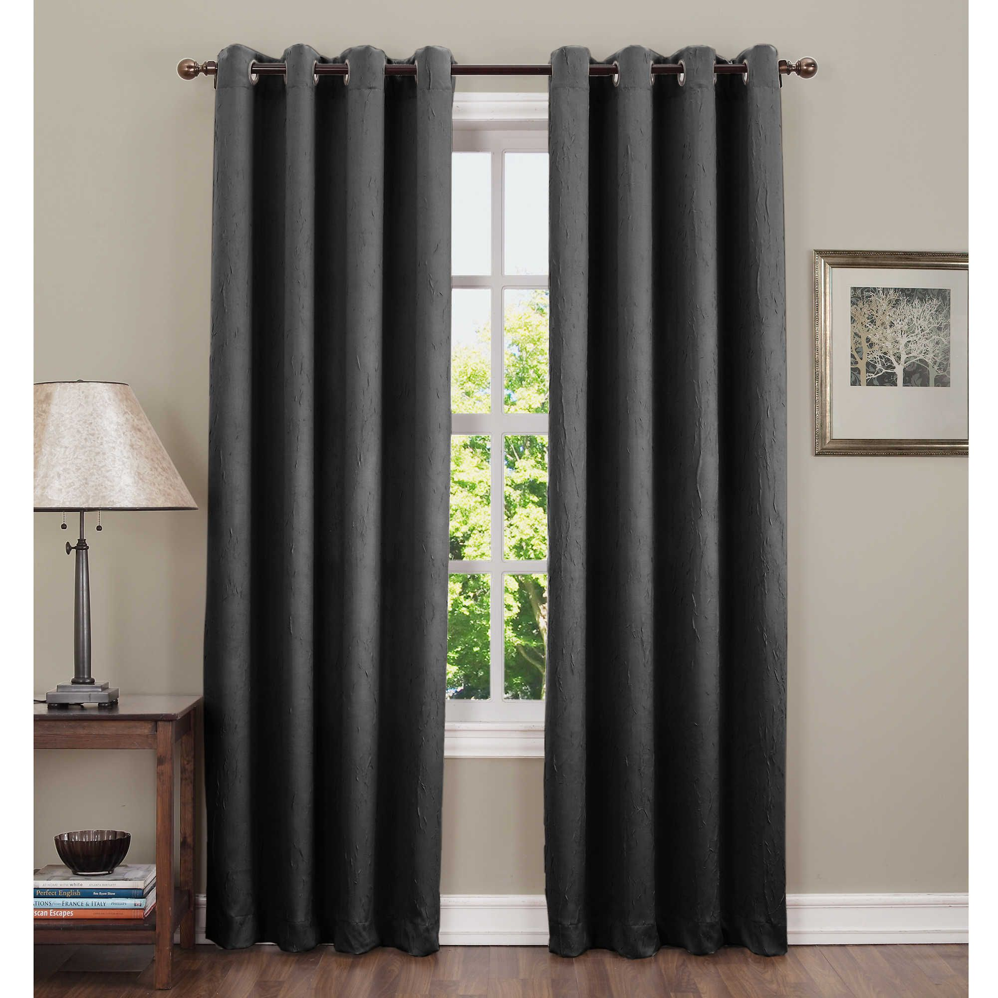 Sun Zero Hoffman Grommet Top Room Darkening Window Curtain Panel