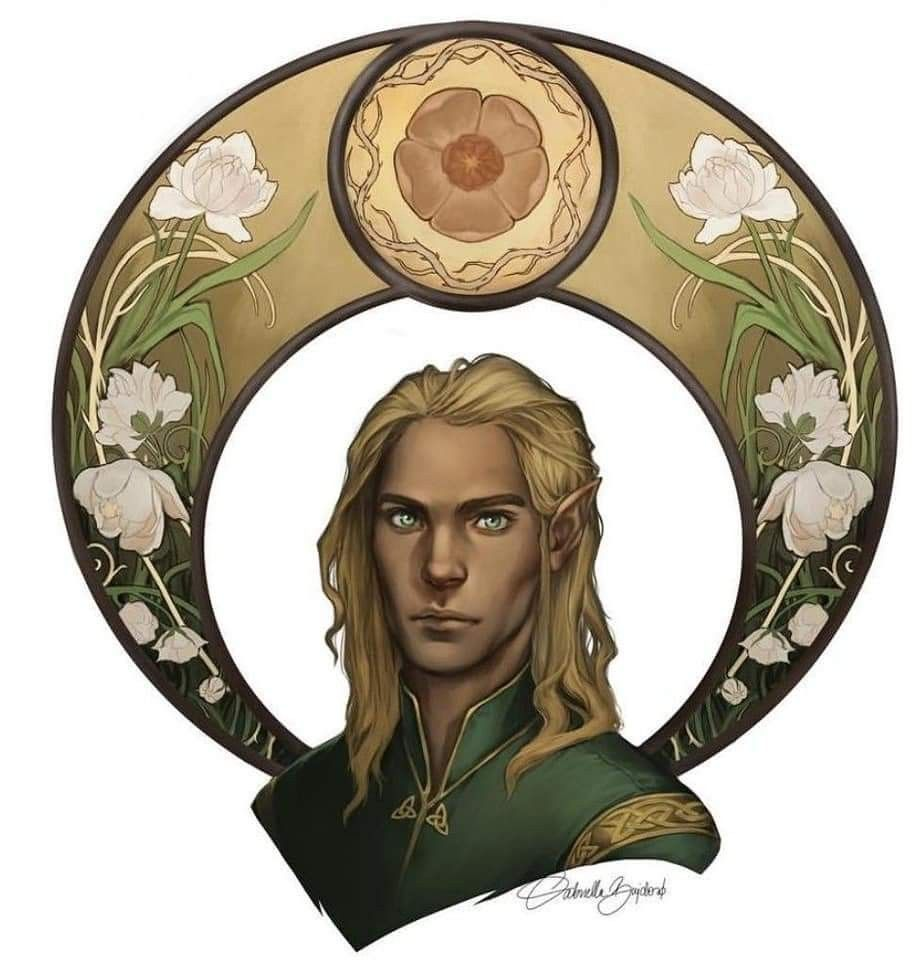Tamlin A Court Of Wings And Ruin Roses Book Artwork