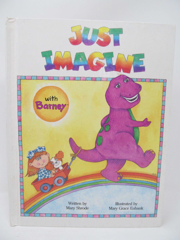 Valentine S Day Sale Barney The Dinosaur Book Just Etsy Barney The Dinosaurs Barney Dinosaur