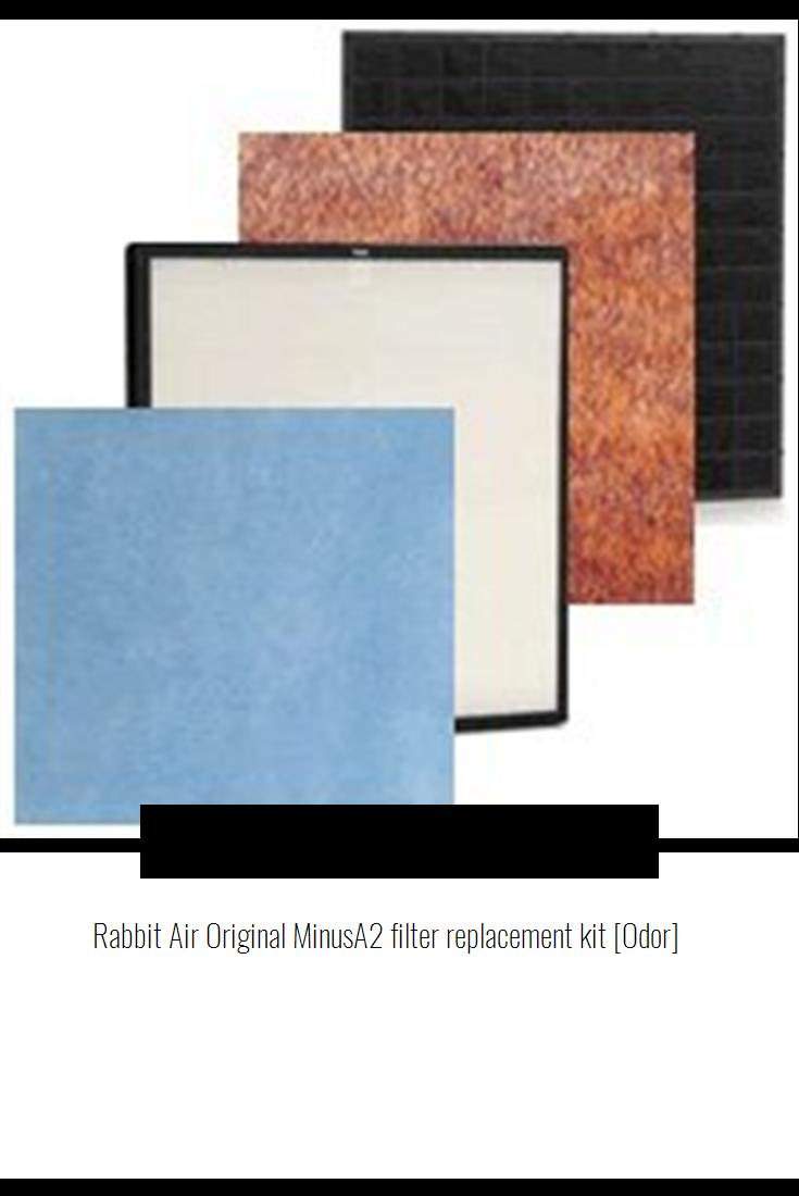 Rabbit Air Original MinusA2 filter replacement kit [Odor