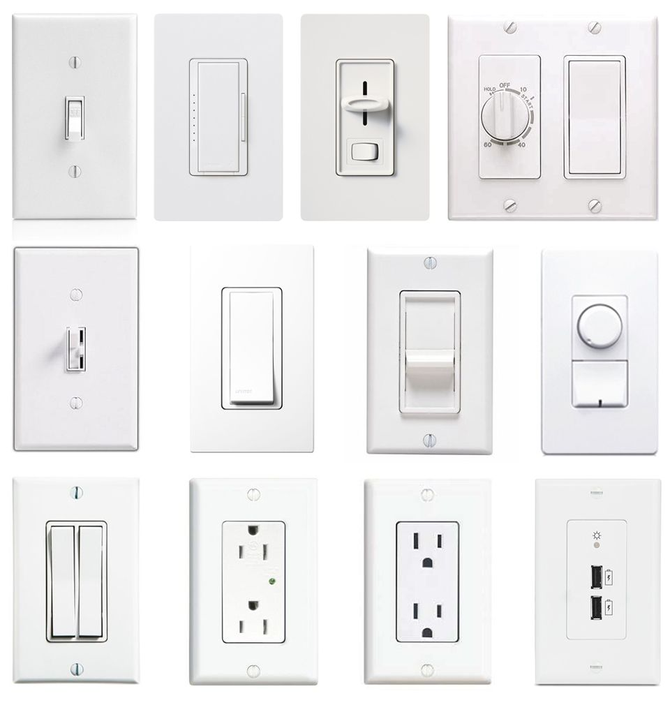 Light Switch Types >> Walhub Compatible Switches In 2019 Electrical Switches