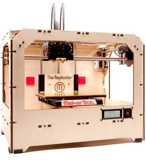 3D Printing: MakerBot Industries' New Dual-Extrusion Replicator