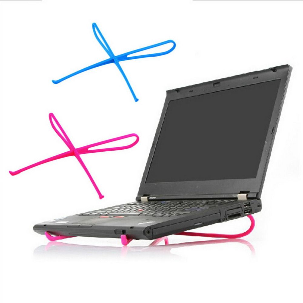 Portable Plastic Simple Laptop Notebook Cooling Cooler Stand Rack