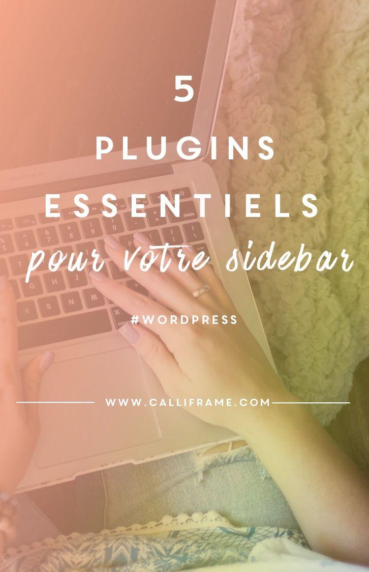 5 plugins pour votre sidebar