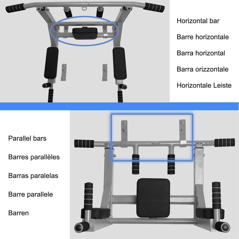 Leogreen Barre De Traction 2 En 1 Chaise Romaine Mural Pour Trx Sac De Boxe Elingues Poignees Antiderapantes Exercices Pu En 2020 Sac De Boxe Trx Barre De Traction