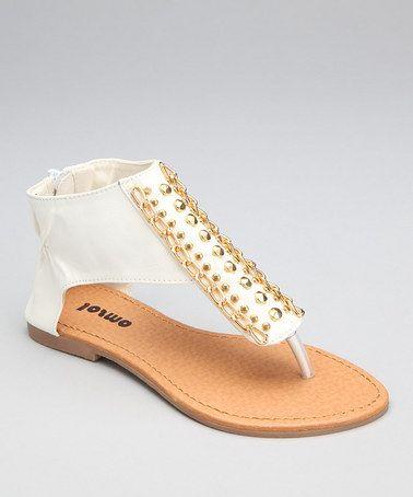 6523c67d14b1 White Capri Pants with Ruffle Hem - Infant