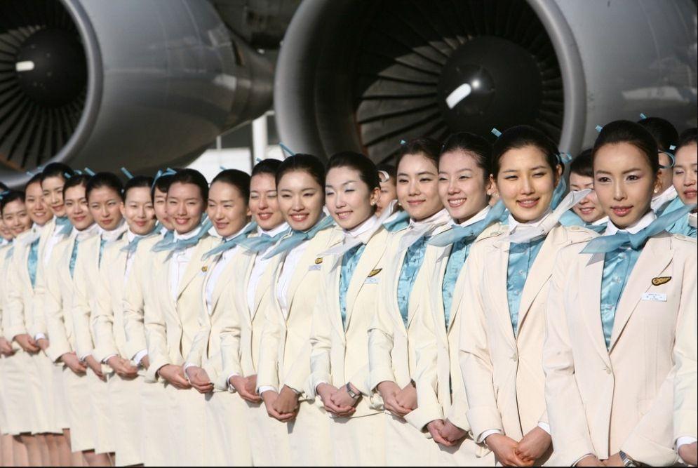 Korean Air Flight Attendant Uniform Flight Attendant Uniform Air Flight Flight Attendant
