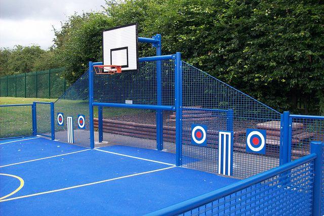 Steelwayuk Outdoor Basketball Court Basketball Court Backyard Backyard Playground