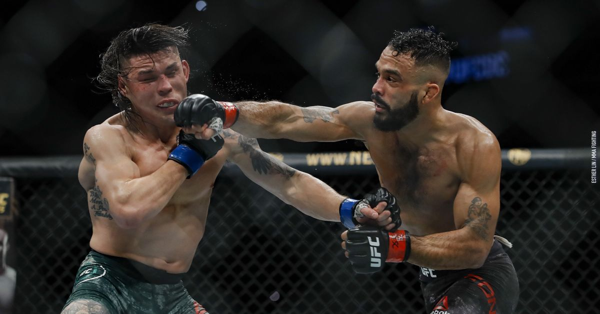 UFC on ESPN 7 results Rob Font edges out Ricky Simon in