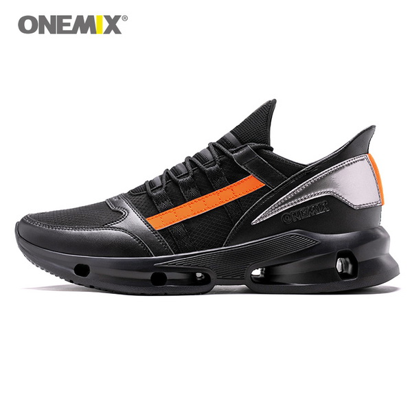 Novelty Black Orange Vintage Sneakers Onemix Men S Tennis Shoes Running Shoes For Men Trending Sneakers Womens Fashion Tennis Shoes