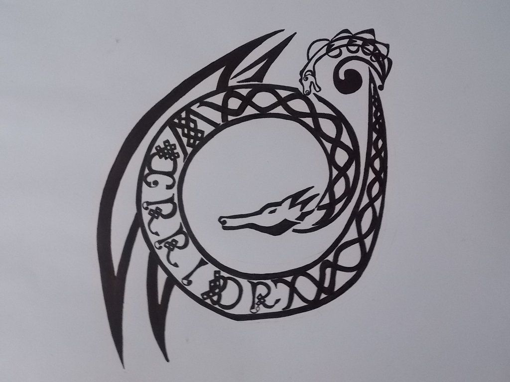 Celtic warrior symbol warrior dragon tattoo celtic ancient celtic warrior symbol warrior dragon tattoo celtic biocorpaavc Gallery