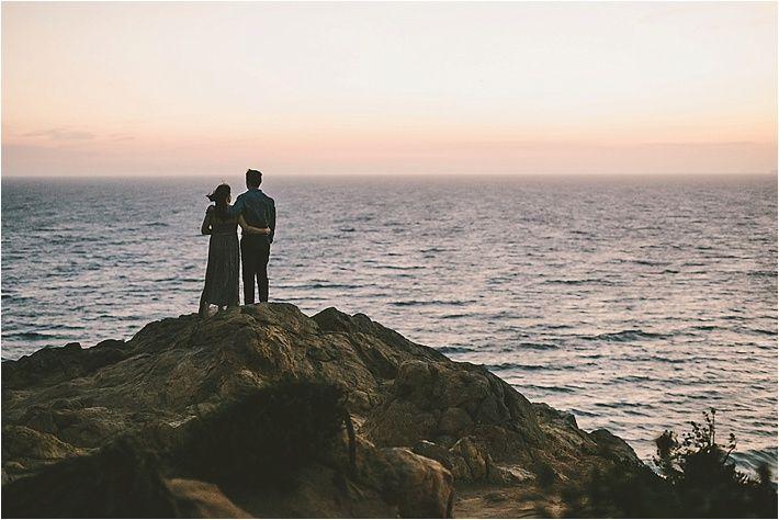 Southern California Bride: Point Dume, Malibu Engagement Session