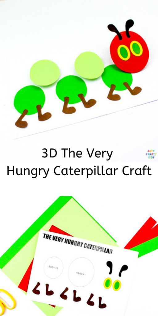 photograph about Very Hungry Caterpillar Craft Printable called The Pretty Hungry Caterpillar Printable Craft Ebook and Tune