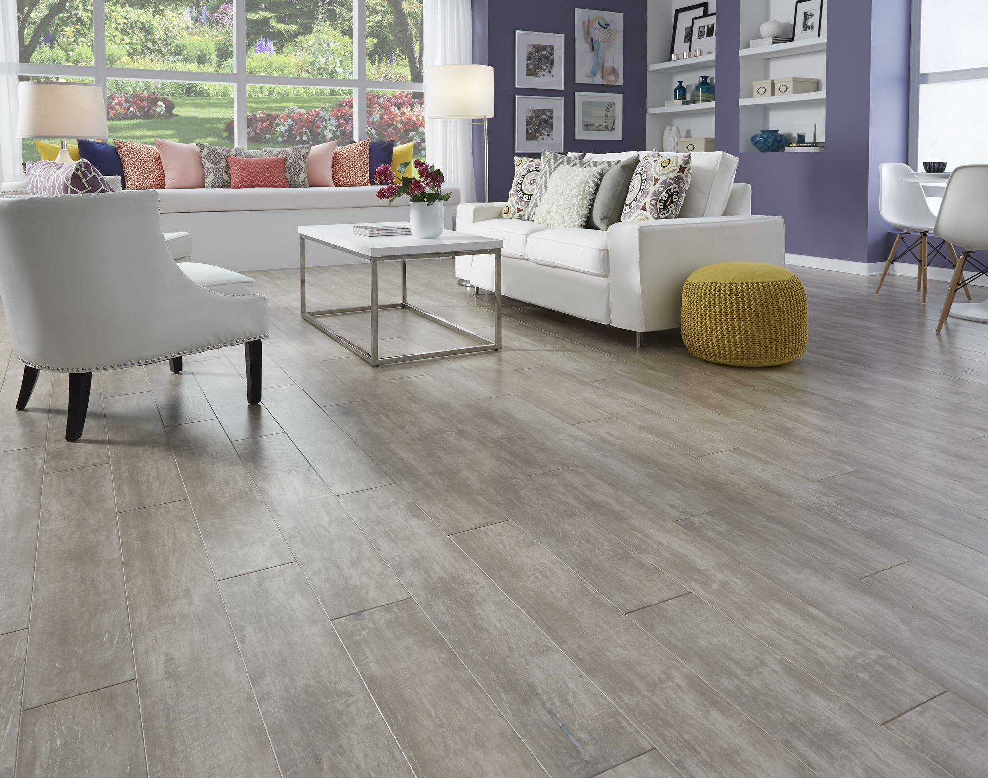 Stonewashed Linen Oak Distressed Hardwood Flooring Oak