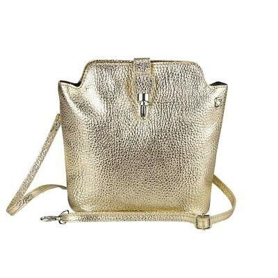 Photo of Italy Ladies Real Leather Bag Metallic Shoulder Bag Evening Bag Shoulder Bag  | eBay