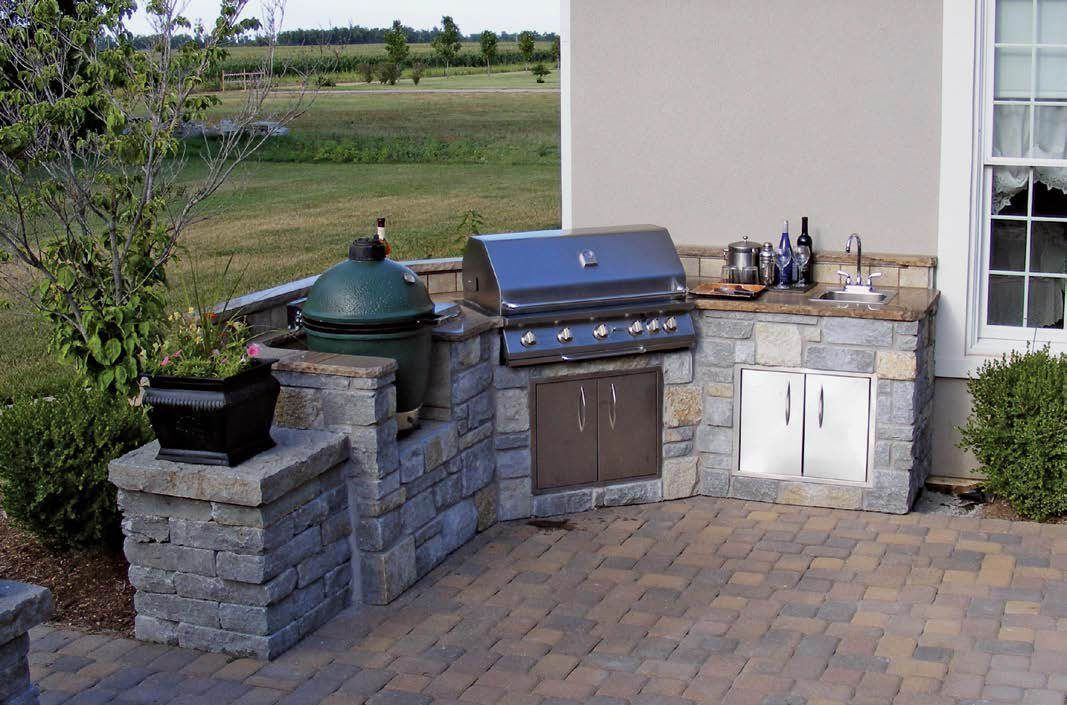 Check out these 100+ outdoor kitchen designs as well as discover the