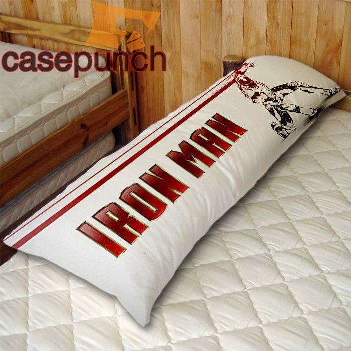 body pillow pillows iron man training