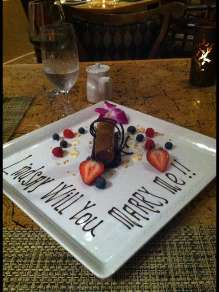 I Ve Always Like The Idea Of Getting Proposed To At Dinner