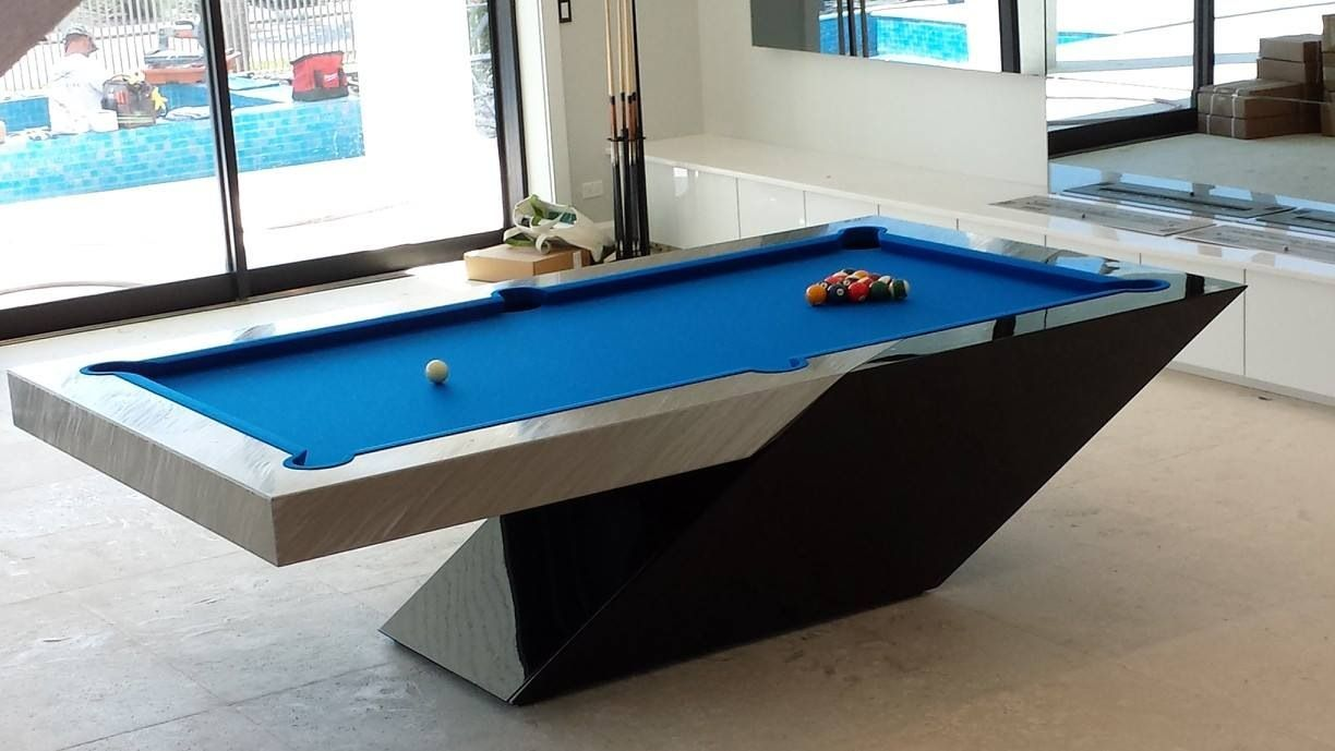 Gentil CATALINA Pool Table By MITCHELL | Exclusive Billiard Designs | Done In  Black Lacquer Automotive Paint