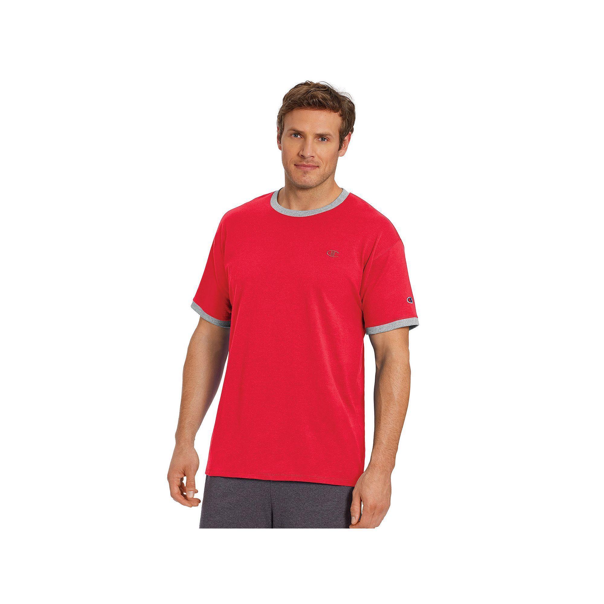 b375a3f0 Mens Champion T Shirt Red