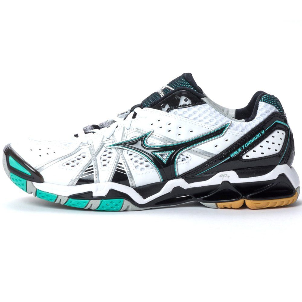 mizuno womens volleyball shoes size 8 x 3 free green high heels