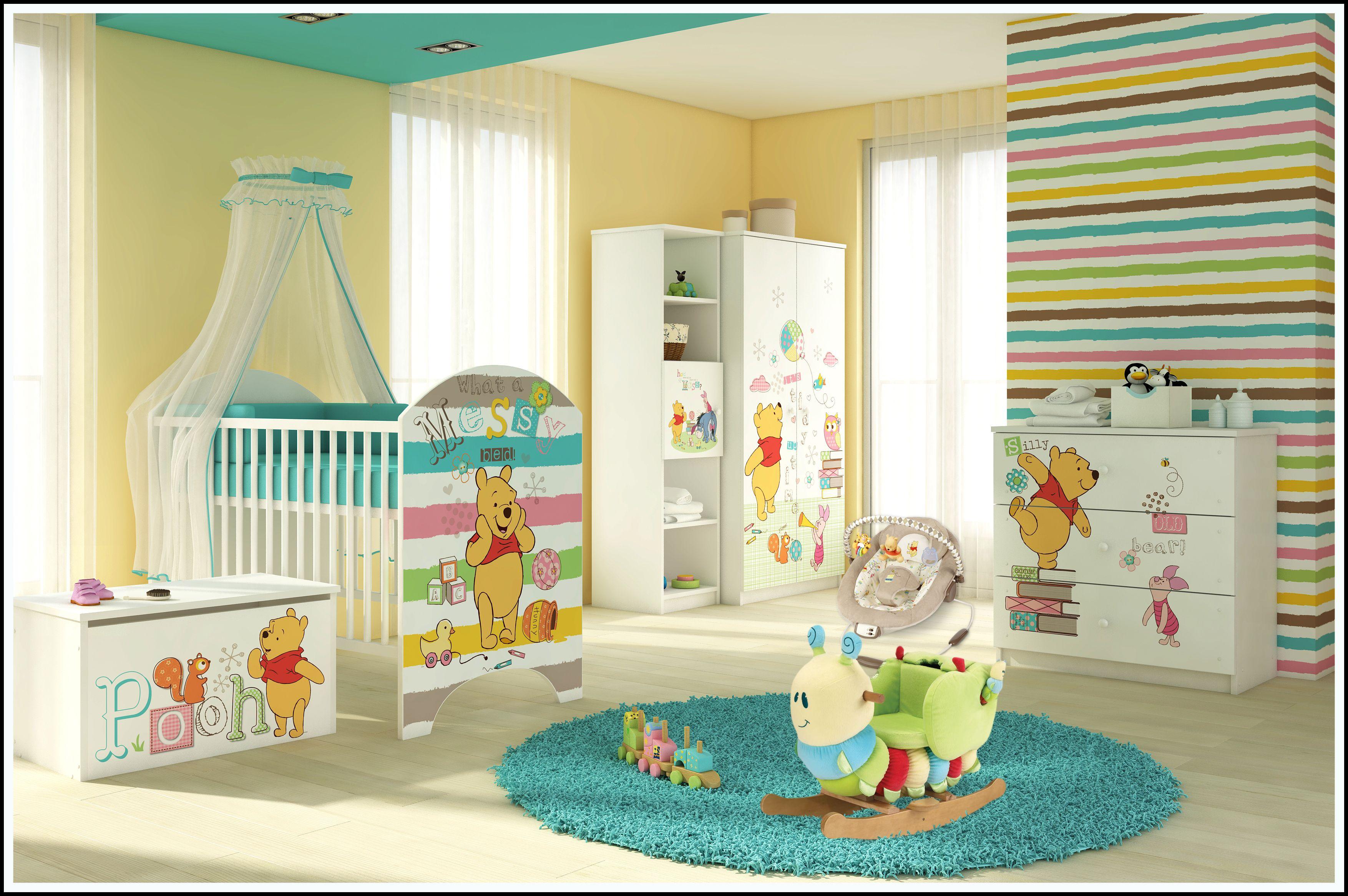 Dětské POKOJE DISNEY - Mickey Mouse, Medvídek Pú. Myška Minnie