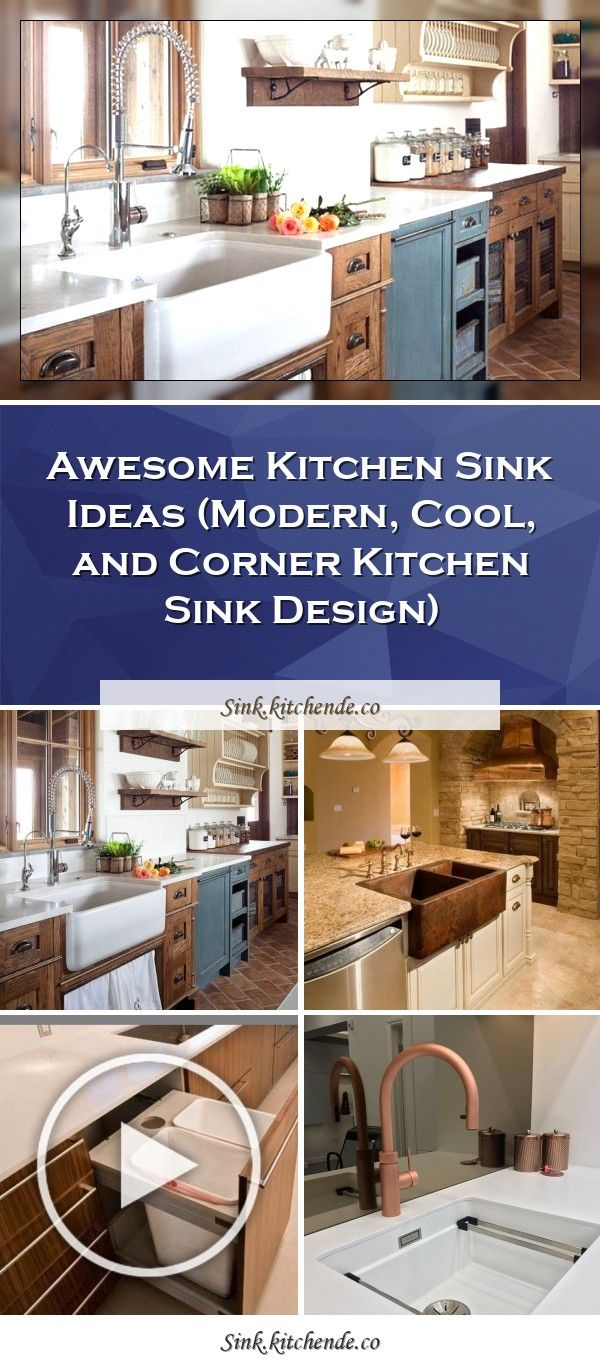 Awesome Kitchen Sink Ideas (Modern, Cool, and Corner ...