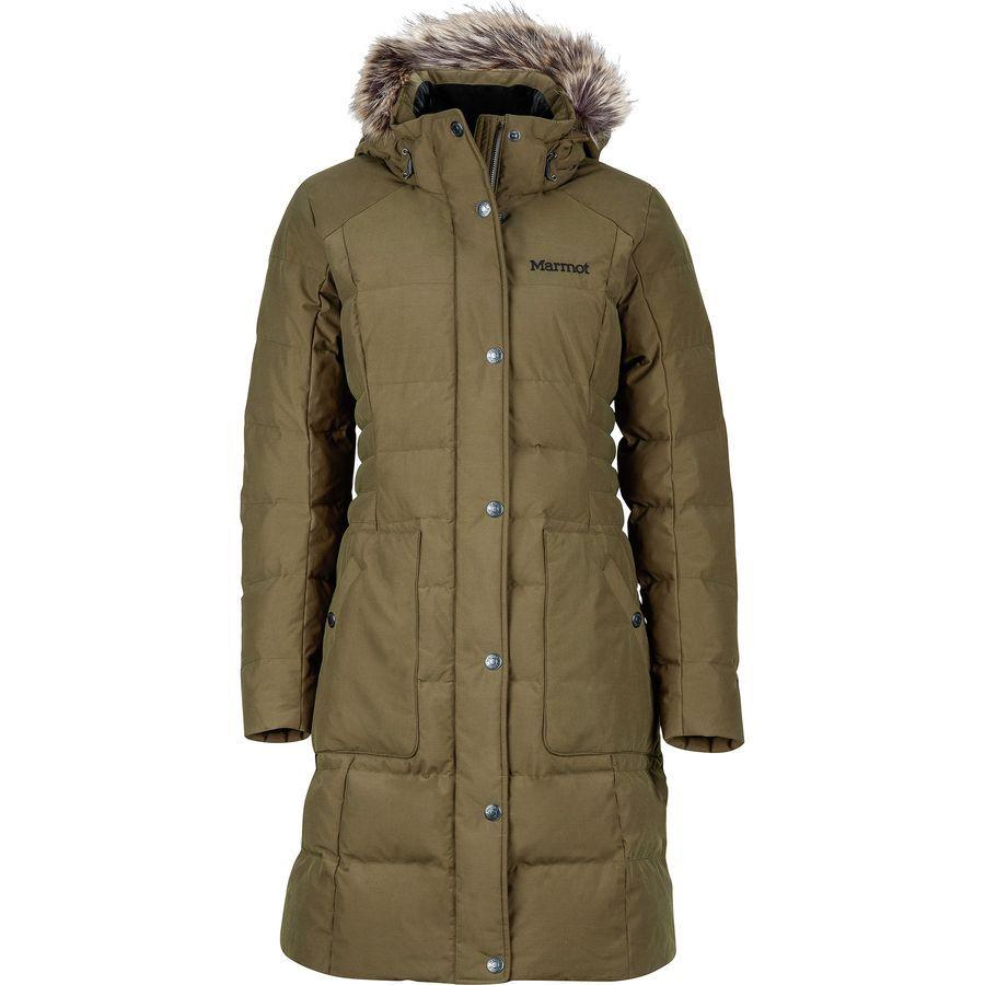 Marmot Clarehall Down Jacket Women S Deep Olive Jackets For Women Winter Jackets Women Jackets