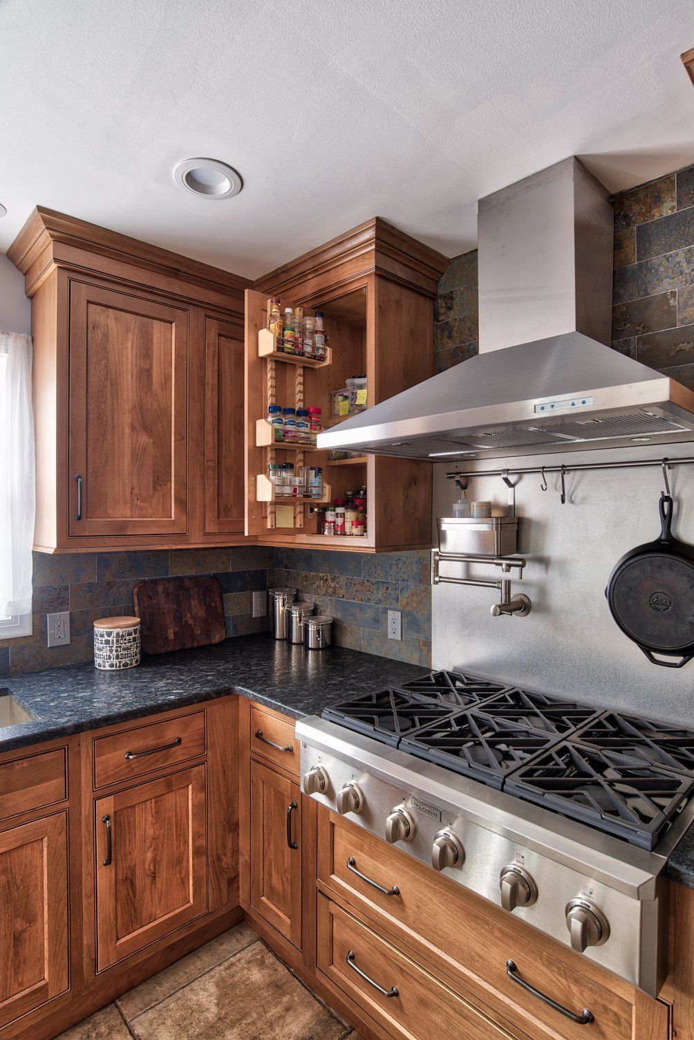 Alder Inset Cabinetry by Starmark (With images) | Kitchen ...