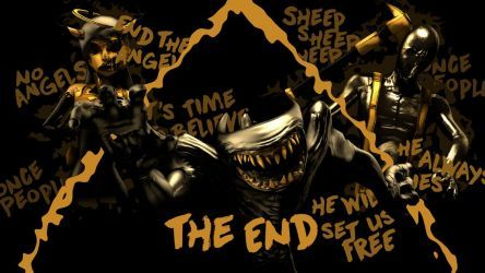 Batim Sfm The End Spoilers By Eliterobo With Images Bendy