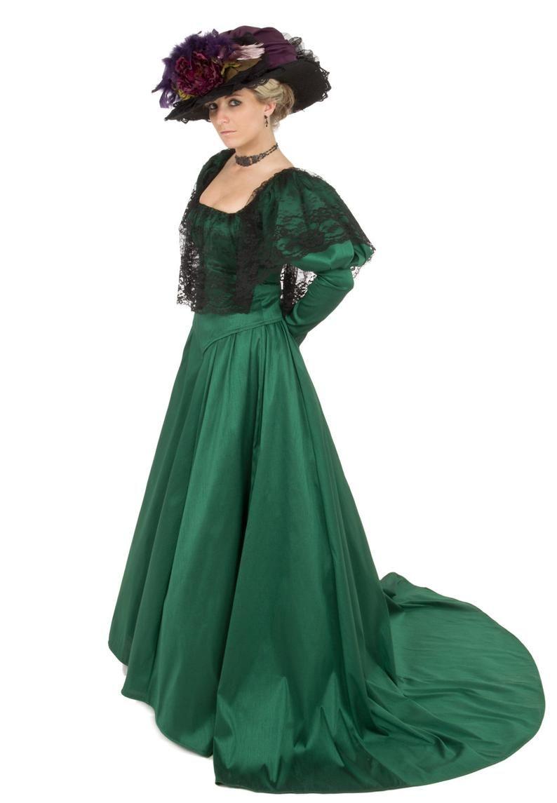 1900s Edwardian Dresses 1910s Dresses Victorian Gown Edwardian Dress Edwardian Gown [ 1145 x 794 Pixel ]