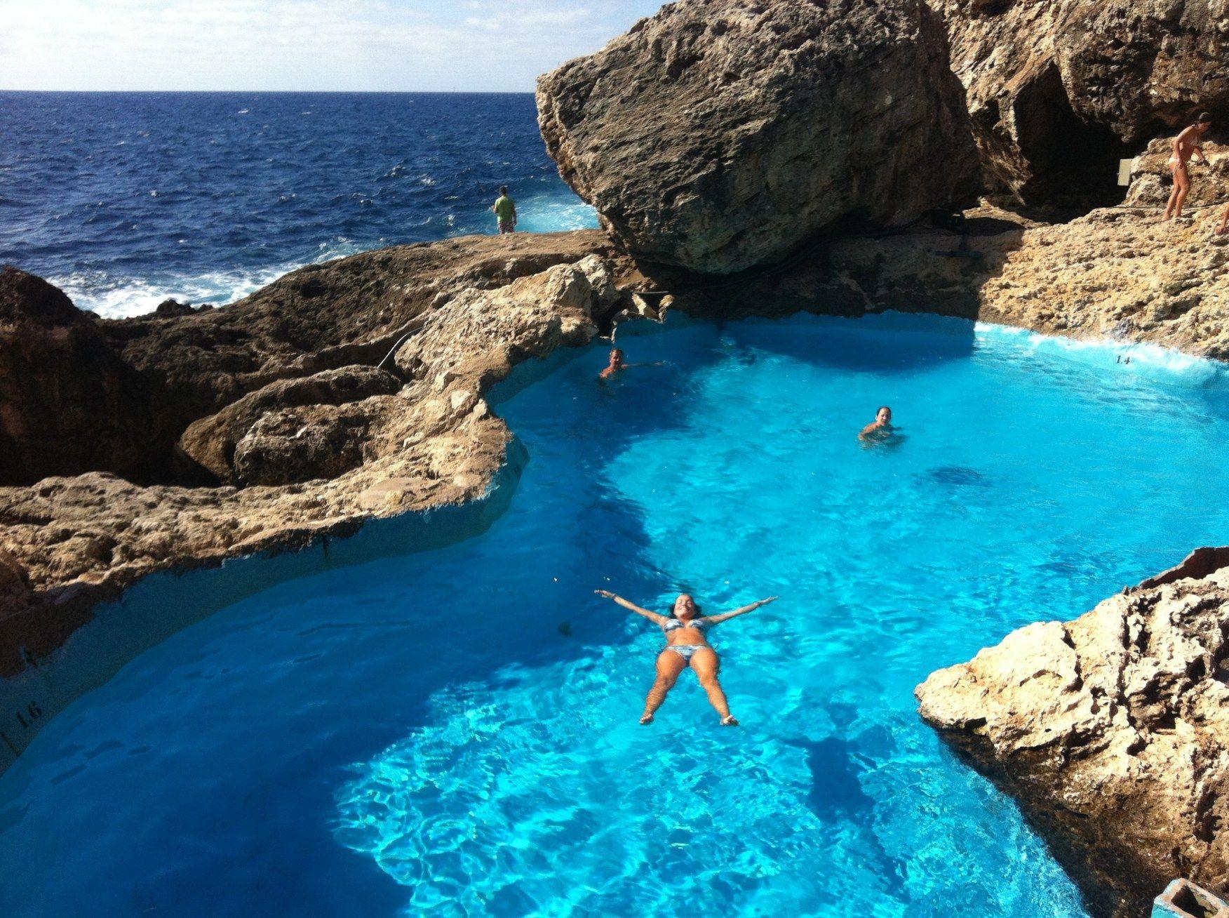Piscina natural cal de ses egos beautiful pools - Piscina natural mallorca ...