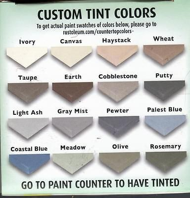 Rustoleum Countertop Paint Samples Bstcountertops