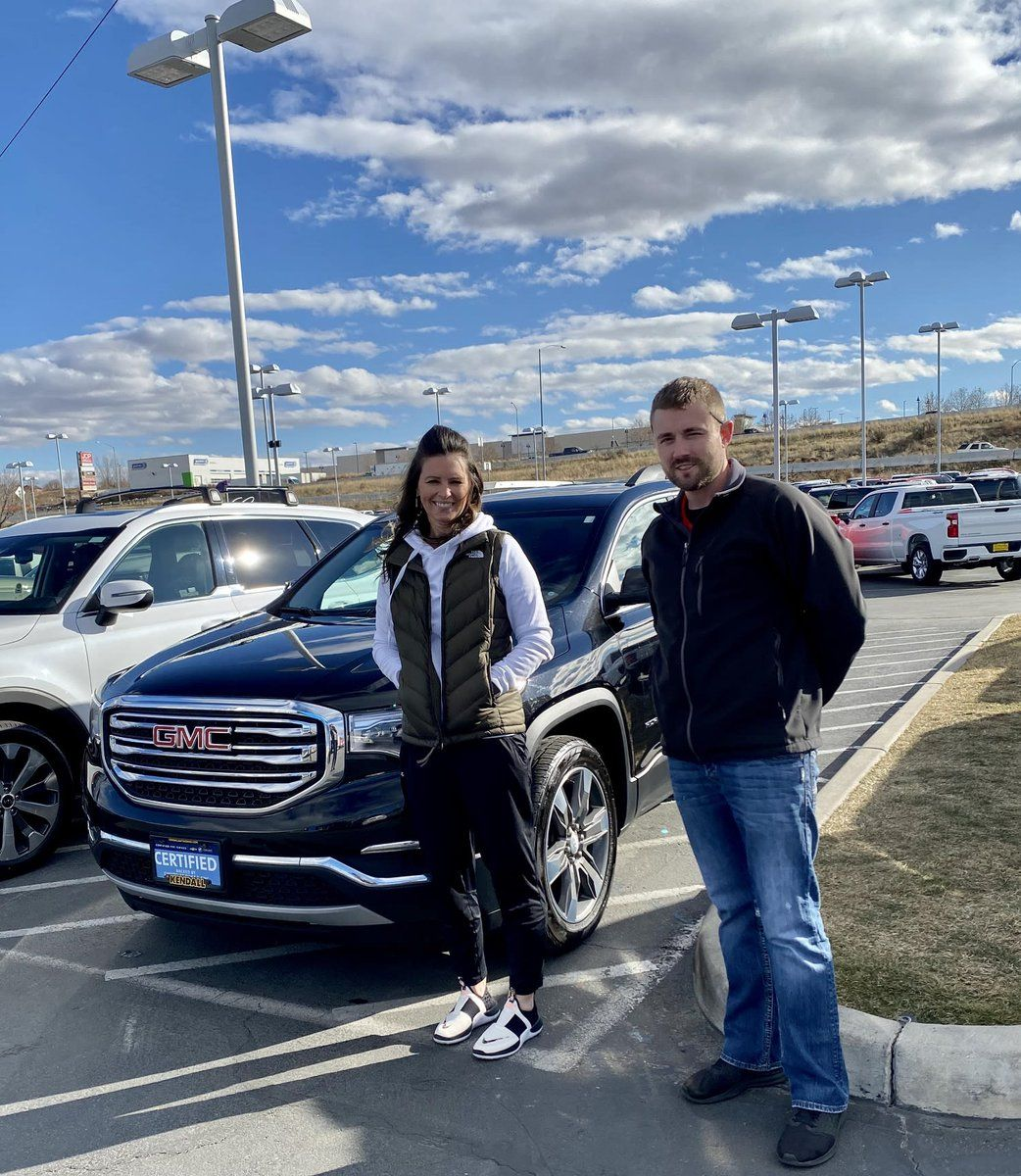 Congrats Travis Kraupp On The Purchase Of Your Gmc Acadia Thanks For Choosing Kendall At The Idaho Center Auto Mall And Trusting Justin Swe In 2020 Gmc Kendall Acadia