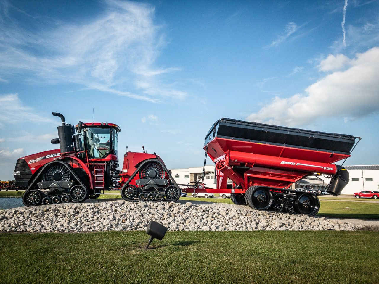 What grain cart will you be using for the harvest19