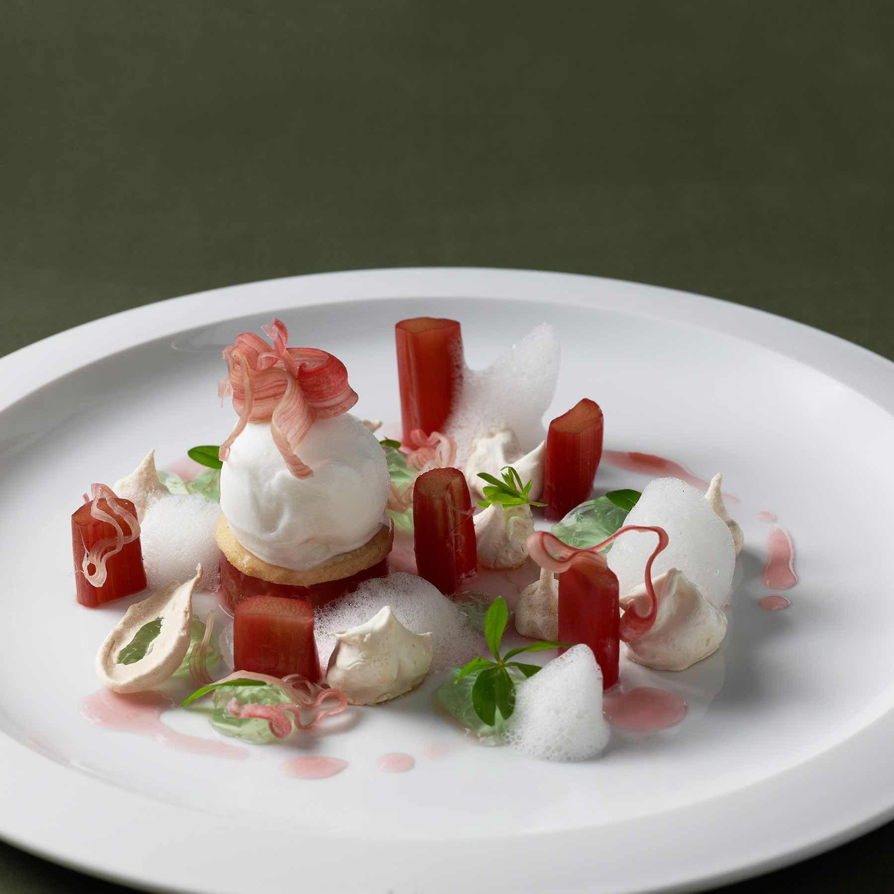Johannes King Rezept Rhabarber Gourmet Desserts Einfacher Nachtisch
