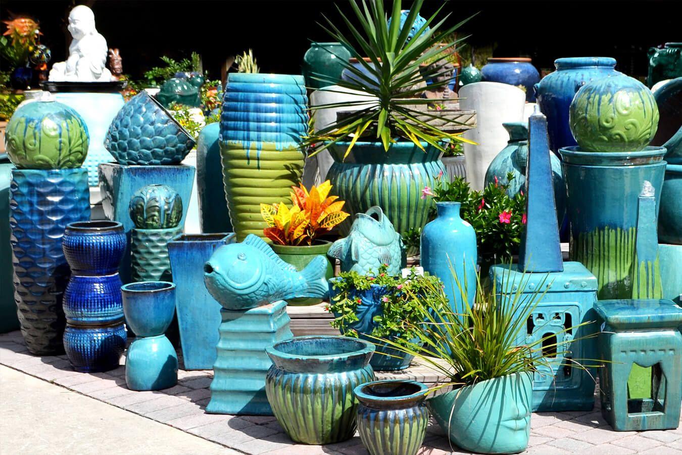 Wholesale Vietnamese Garden Pottery Large Pots Outdoor 400 x 300
