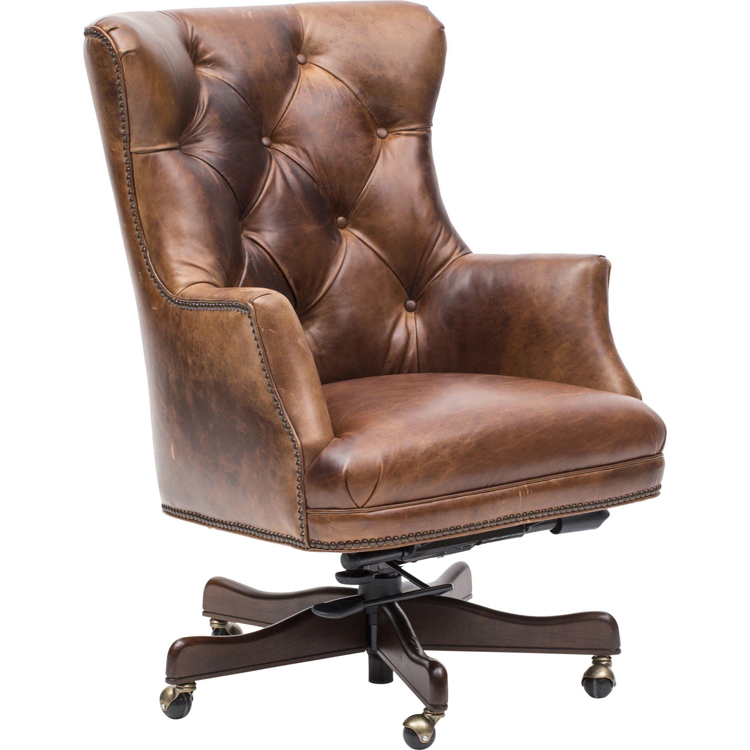 Theodore Executive Leather Office Chair (With Images
