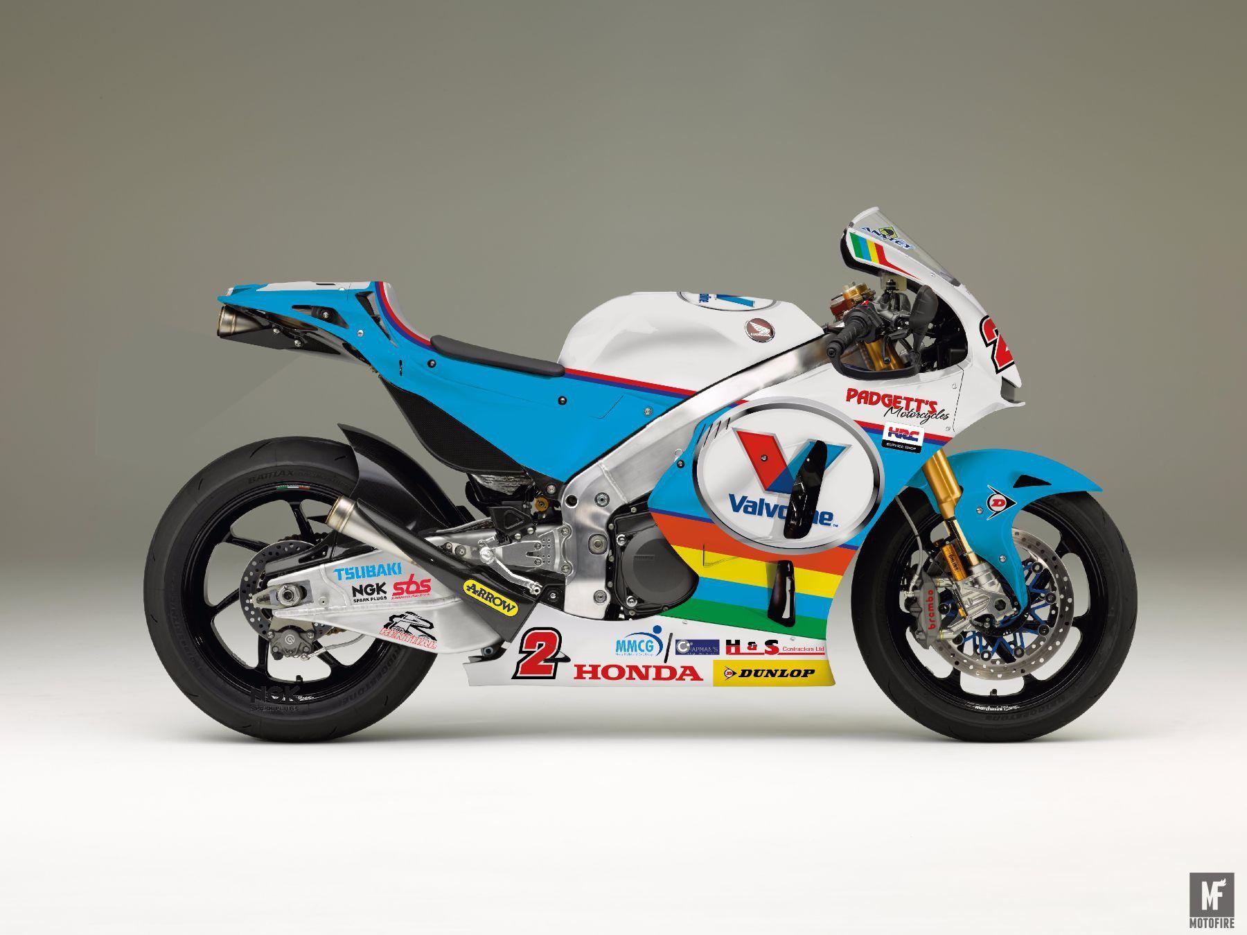 Fastest Ever Tt Winner Is Racing The Motogp Inspired Honda Rcv At