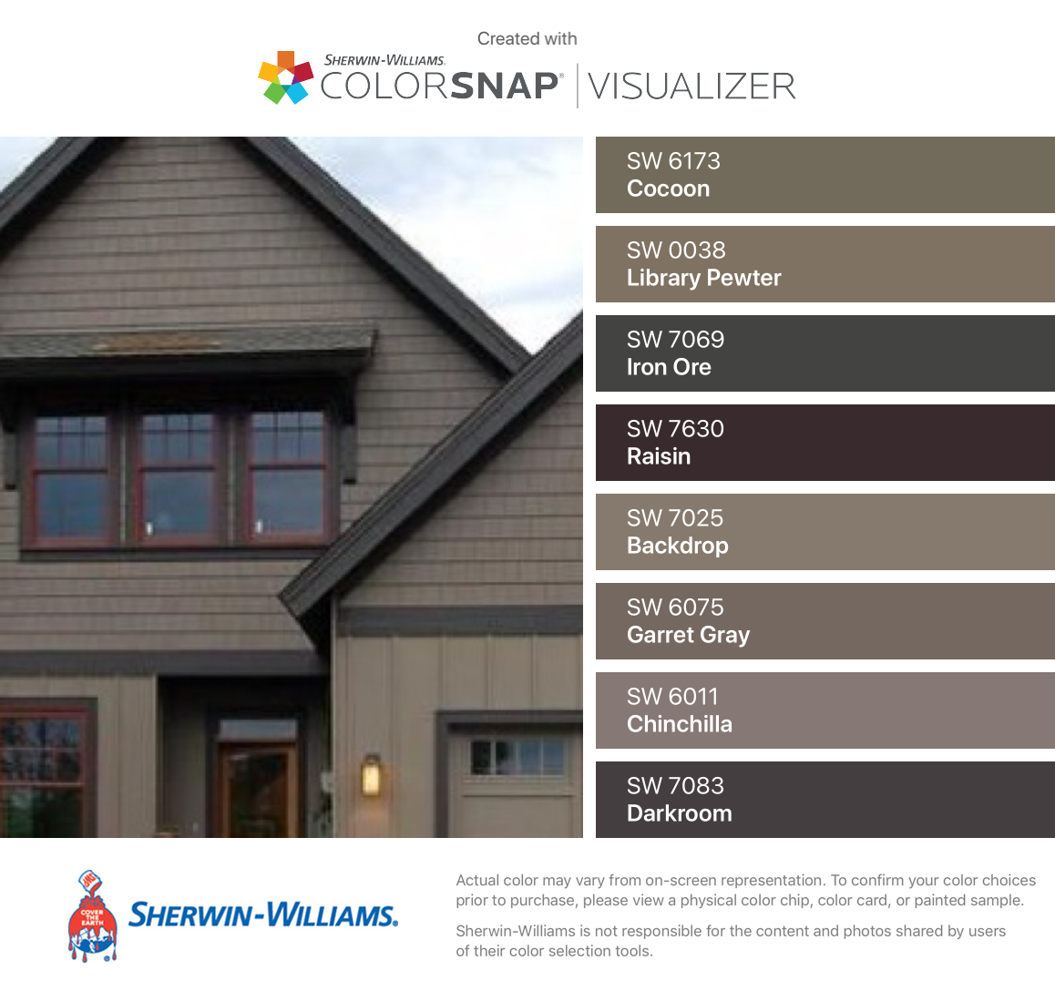 I Found These Colors With Colorsnap Visualizer For Iphone By Sher House Paint Exterior Exterior Paint Colors For House Exterior House Paint Color Combinations