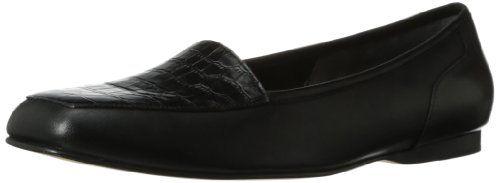 Enzo Women's Liberty Loafer,Black Croco,4 M Enzo Angiolini http://