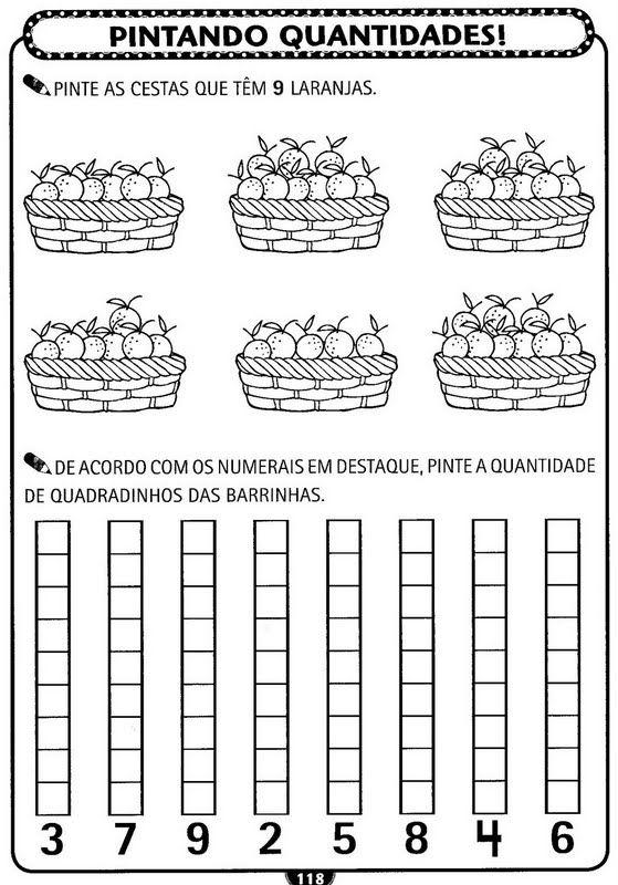 Atividades de matemática para Educação Infantil - A ARTE DE EDUCAR ...